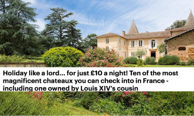 Mail Online - Holiday like a lord