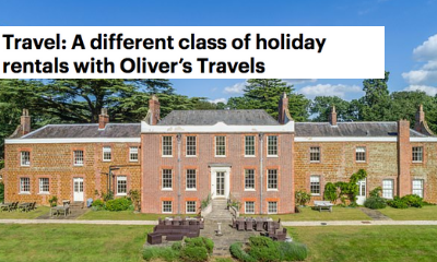 Mail Online -Travel: A different class of holiday rentals with Oliver's Travels