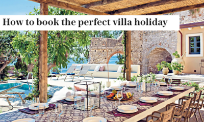Sunday Telegraph - How to book the perfect villa holiday