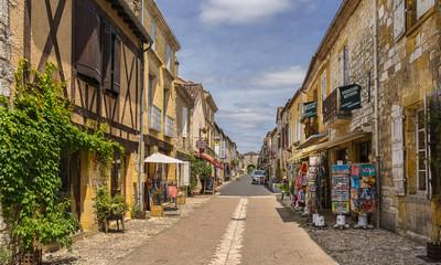 Monpazier in the Dordogne