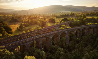 Villa holidays by train