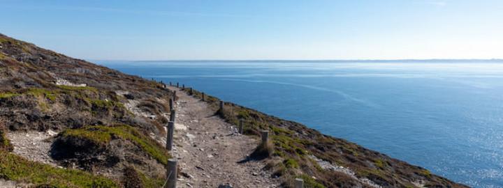 GR34 coastal footpath, Brittany