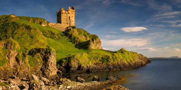 Gylen Castle, Argyll, Scotland