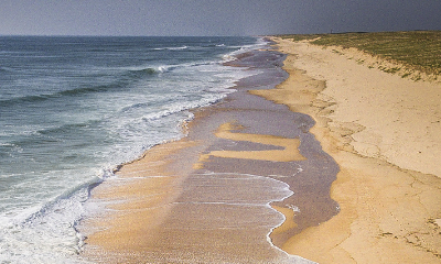 Plage de Moliets beach