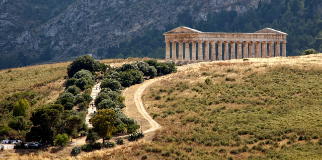 Segesta Temple Sicily