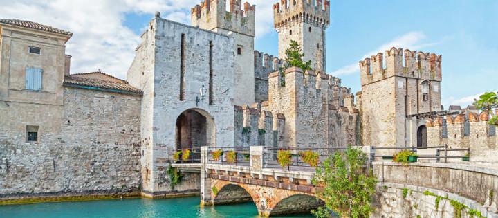 Sirmione Castle Italian Lakes