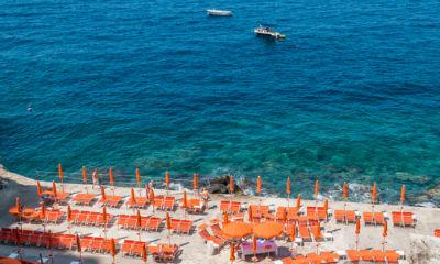 Spiaggia della Gavitella beach, Sorrento Amalfi