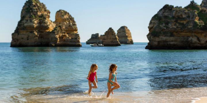 Kids in the Algarve