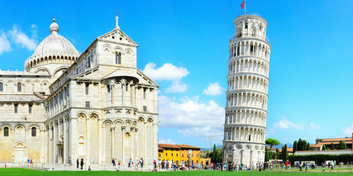 Pisa tower, Tuscany
