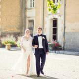 Real Weddings: Goda and Bill at Chateau De St Jean
