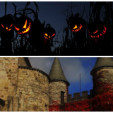 Top 10 Halloween Castles