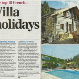 The Telegraph Puts Oliver's Travels In Their Top 10!