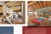 Blouin Magazine Gets Cozy with Chalet Le Char
