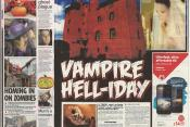 The Vampire Weekender Gets The Front Page Treatment for Halloween!