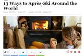 The Huffington Post Gets Some Ski Tips from Oliver!