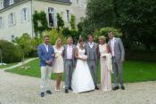 Real Weddings: Naomi and Dan at Chateau De Tille