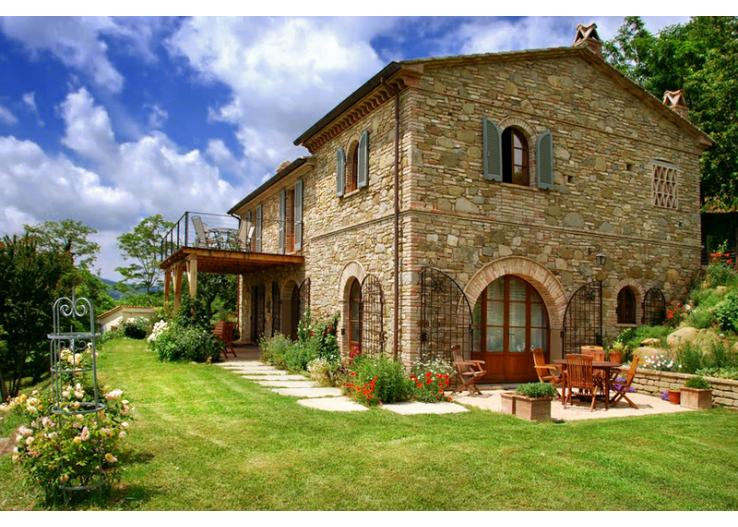 Casa Giardino, Umbria  Olivers Travels
